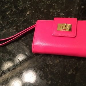 PINK PHONE CASE WALLET